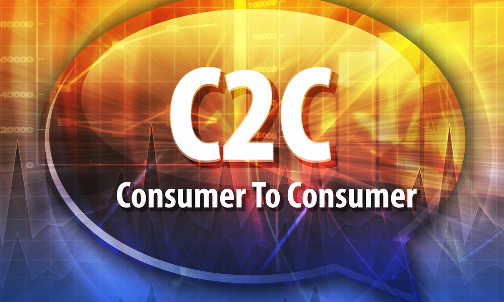Consumer to Consumer C2C - The Sharing Economy by Susan HayesCulleton