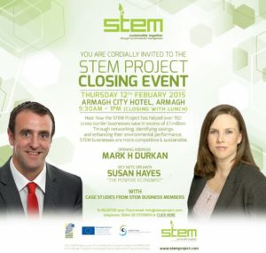 Susan HayesCulleton was a keynote speaker at the closing event of the STEM project
